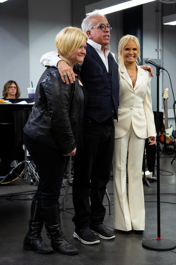 Mary Mitchell Campbell, Richard-Jay Alexander, Kristin Chenoweth Photo