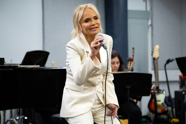 Photo Coverage: Kristin Chenoweth Rehearses for Broadway Return in FOR THE GIRLS