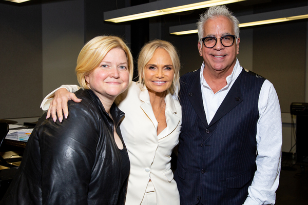 Mary Mitchell Campbell, Kristin Chenoweth, Richard-Jay Alexander Photo