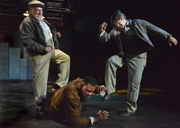 Photo Flash: The Cast Of THE DOUBLE V Shines At The Matrix Theatre