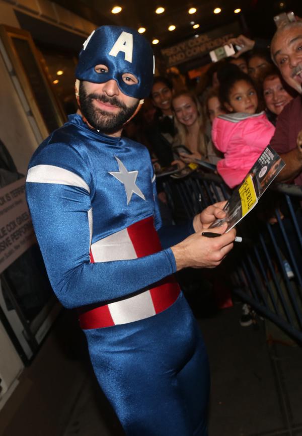 "Eddie Arnold as ""Captain America""  Photo"