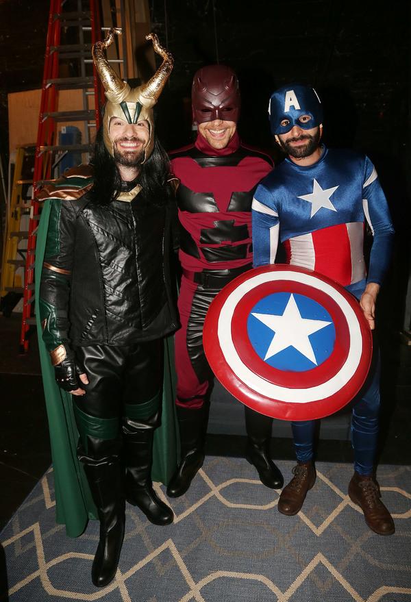 Charlie Cox, Tom Hiddleston and Eddie Arnold  Photo