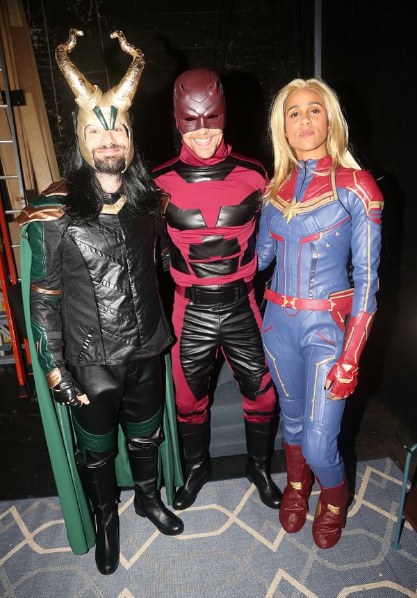 Charlie Cox, Tom Hiddleston, and Zawe Ashton Photo