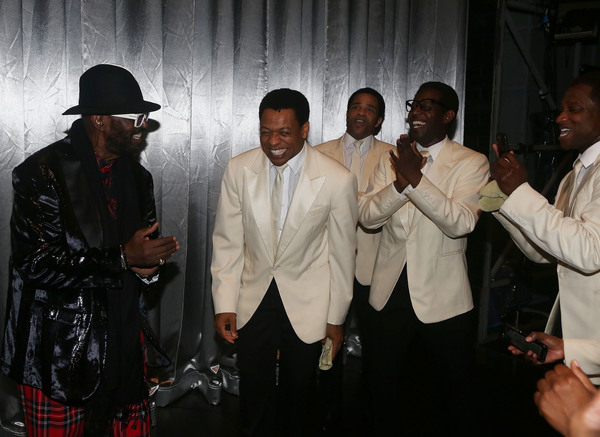Photo Flash: AIN'T TOO PROUD Celebrates Otis Williams' Birthday!