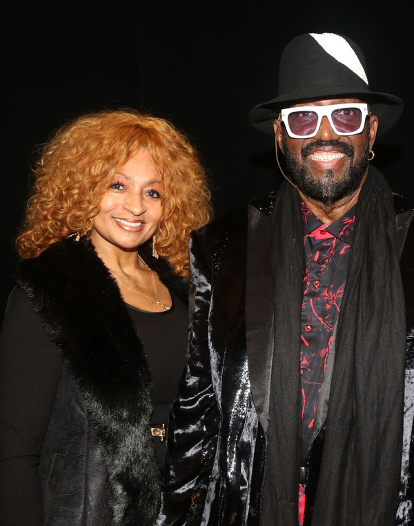 Patricia Penix and Otis Williams  Photo