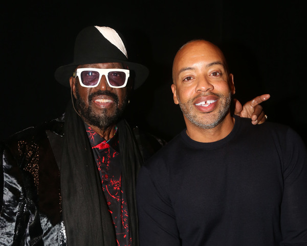 Otis Williams and Derrick Porter  Photo