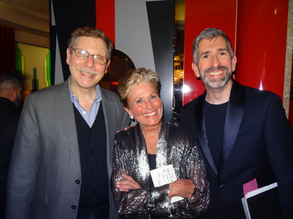 Barry Kleinbort, Lorna Dallas and Simon Beck Photo
