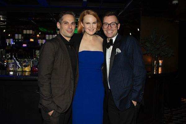 JV Mercanti, Kate Baldwin, Chad Austin  Photo