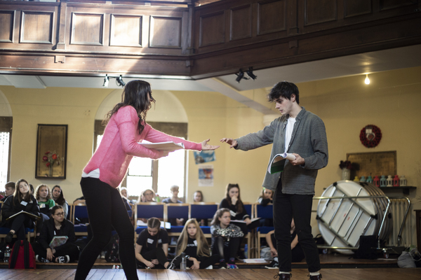 Photo Flash: Take a Look at Pictures From Rehearsals of The Snow Queen Opening at the Rose Theatre Kingston