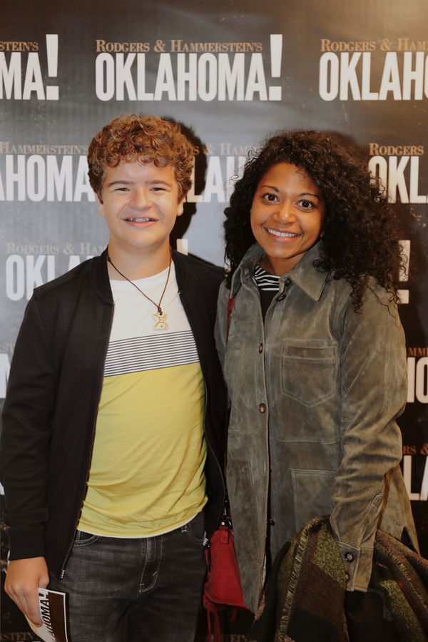 Photo Flash: Gaten Matarazzo Visits OKLAHOMA!