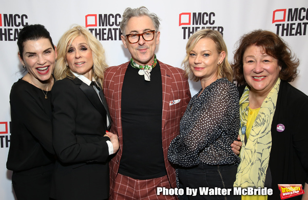 Juliana Margulies, Judith Light, Alan Cumming, Samantha Mathis and Margo Martindale Photo