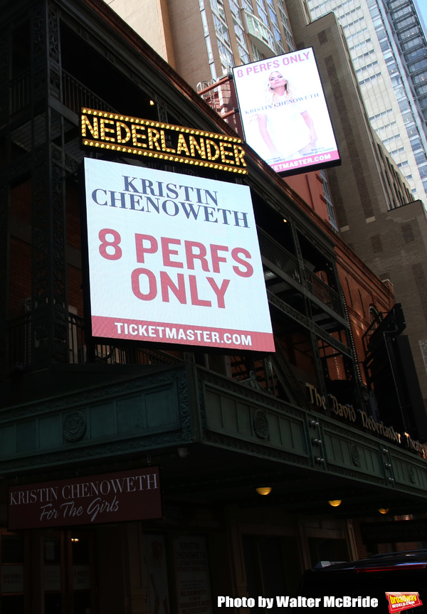 Up On The Marquee: Kristin Chenoweth Brings FOR THE GIRLS to Broadway
