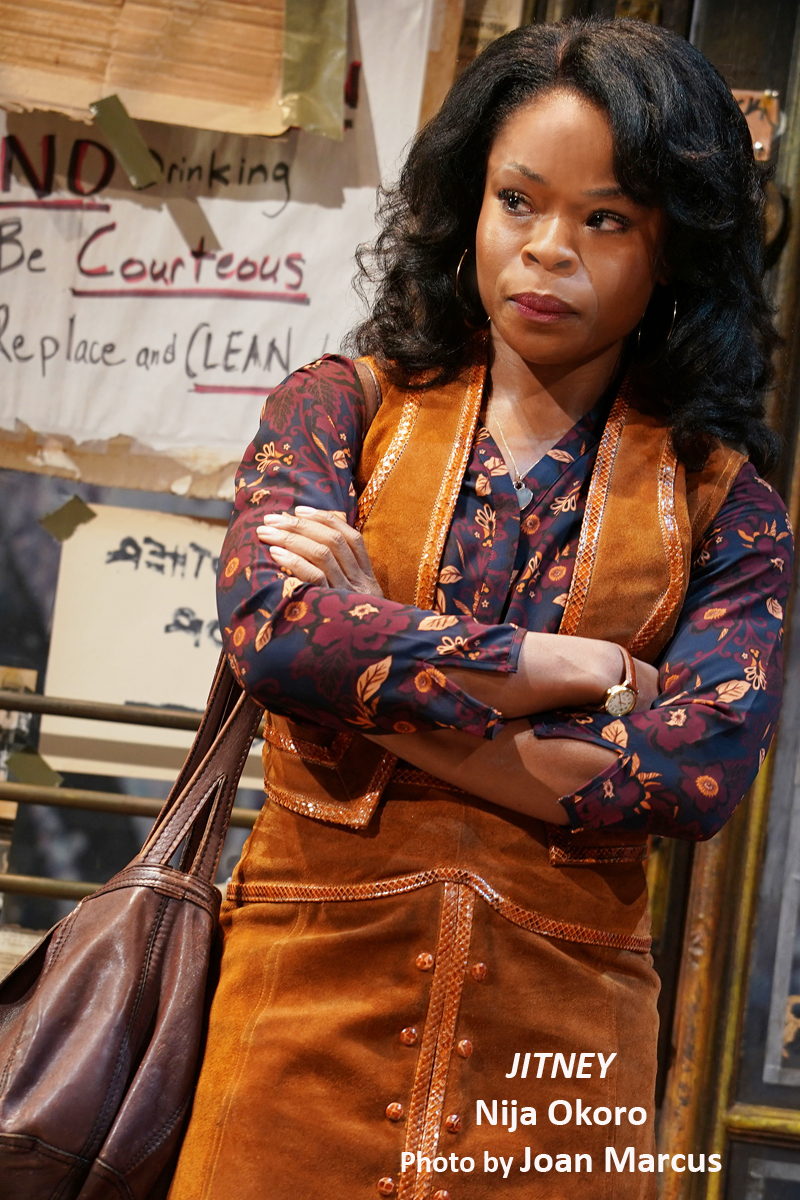 BWW Interview: JITNEY's Nija Okoro - A Blessed August Wilson Aficionado