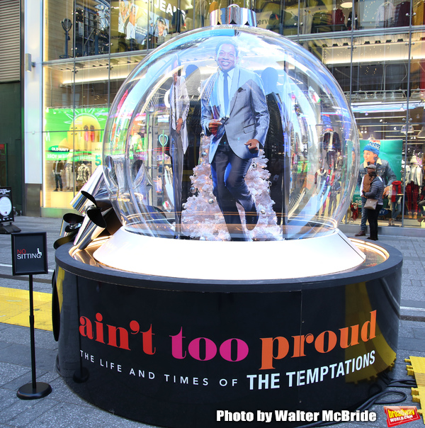 Photo Coverage: Times Square Gets Decked Out with Broadway Show Globes