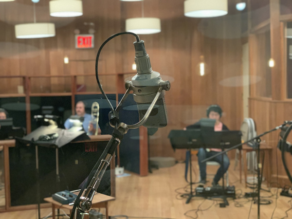 Photo Flash: First Look at Losing My Mind: A Sondheim Disco Fever Dream In Recording Studio