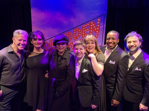 Photo Flash: Joan Collins Visits Forbidden Broadway: The Next Generation