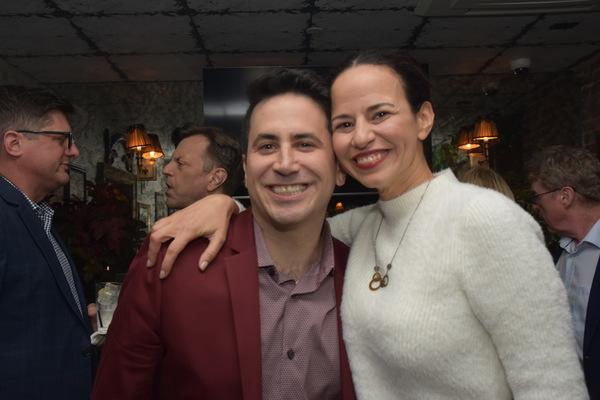 Robert Diamond and Mandy Gonzalez