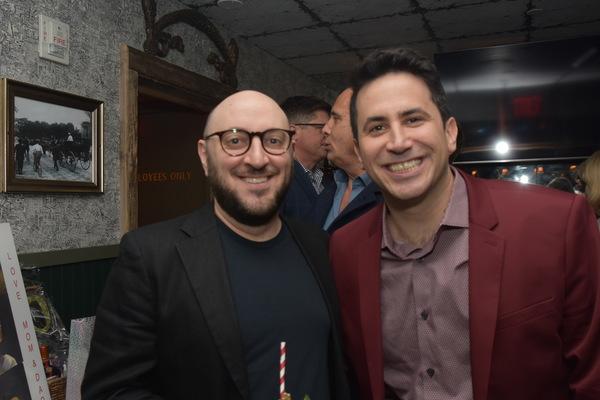 Cary Shapiro and Robert Diamond Photo