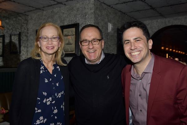 Bet Spector, Brian Spector and Robert Diamond Photo