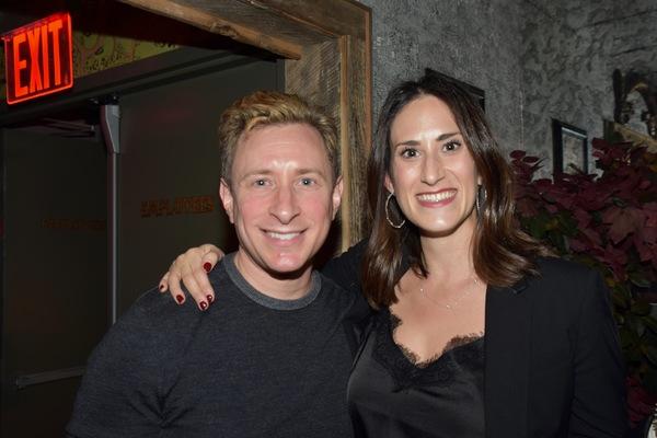 Craig Burns and Jennifer Diamond