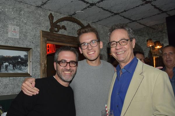 Ben Rimalower, Daniel Nolan and Mark Sendroff Photo