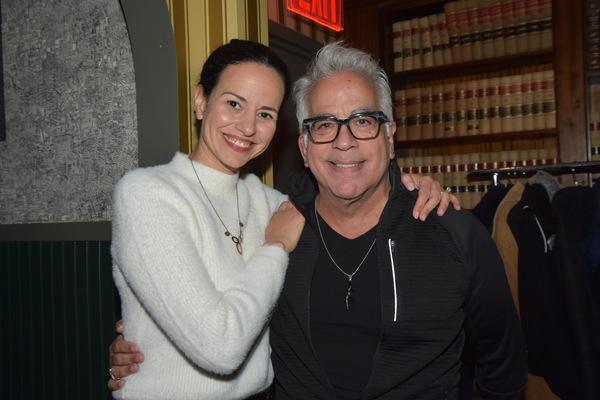 Mandy Gonzalez and Richard Jay-Alexander