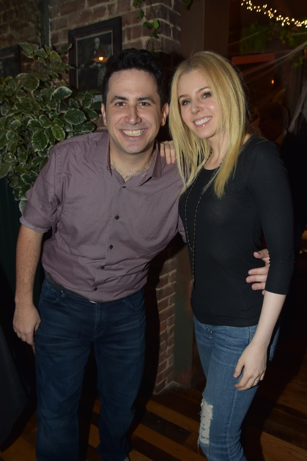Robert Diamond and Brooke Moriber Photo