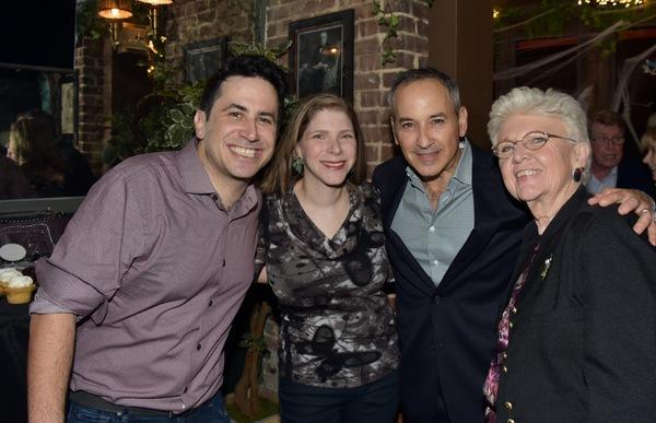 Robert Diamond, Cara Joy David, Miles Silverman and Genevieve Rafter Keddy