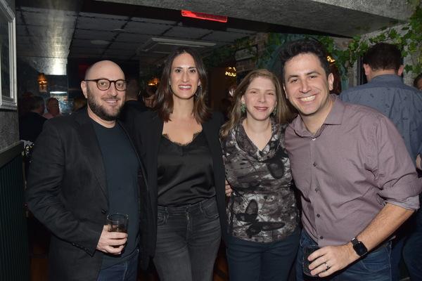 Cary Shapiro, Jennifer Diamond, Cara Joy David and Robert Diamond