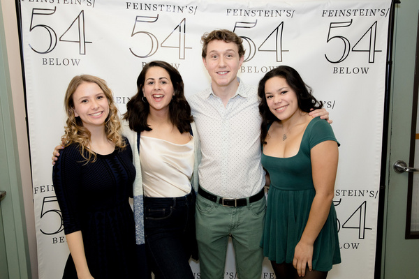 Photo Flash: Take a Look Inside 54 CELEBRATES FRENCH WOODS