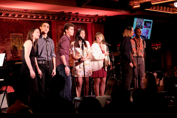 Zach Asnis, Jalen Bunch, Hudson Flynn, Abby Gluck, Tiffany Kumar, Skylar Sherman and  Photo