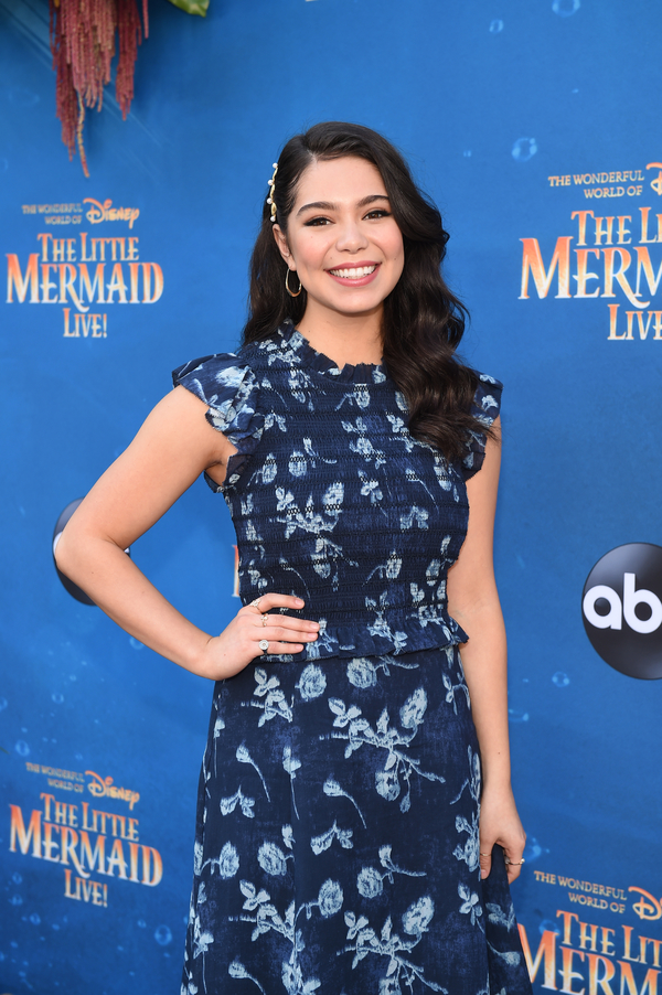 Photo Flash: The Stars of THE LITTLE MERMAID LIVE Walk the Turquoise Carpet!
