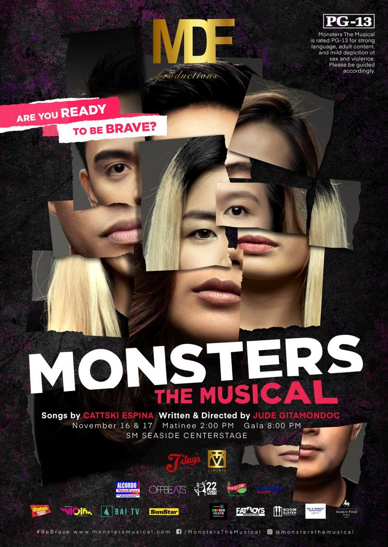 VIDEO: All-Cebuano Cast of MONSTERS THE MUSICAL Record 'Rock N' Roll'; Show Runs Nov. 16-17