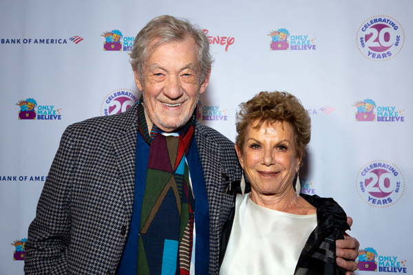Photo Coverage: Ian McKellen and More Walk the Red Carpet at ONLY MAKE BELIEVE