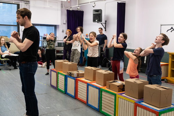 Photo Flash: Take a Look Inside Rehearsals For MATILDA THE MUSICAL At The John W. Engeman Theater