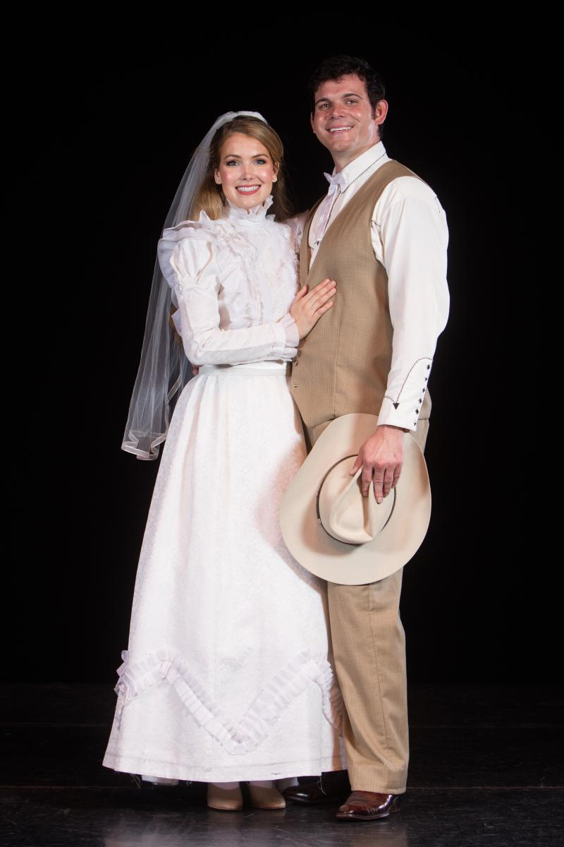BWW Interview: Brynna Horswell & Adam Campbell Of OKLAHOMA! At Charleston Light Opera Guild