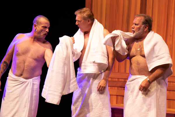 Photos: First look at Original Productions Theatre's STEAM BATH BLUES