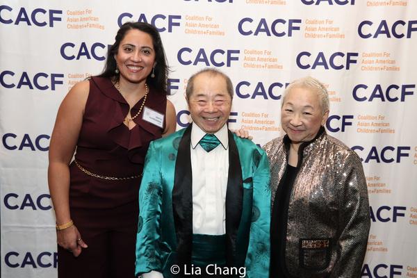 Anita Gundanna, Larry Lee and Lori Tan Chinn