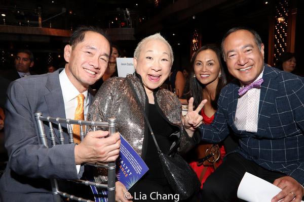 Ti-Hua Chang, Lori Tan Chinn, Ernabel DeMillo and Alan Muraoka
