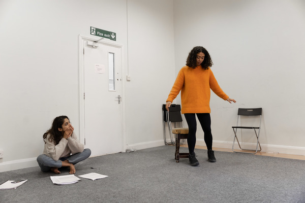 Photo Flash: Inside Rehearsal For BEFORE I WAS A BEAR at The Bunker