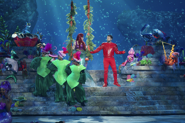 Photo Flash: See Auli'i Cravalho, Queen Latifah, Shaggy, and More in THE LITTLE MERMAID LIVE!