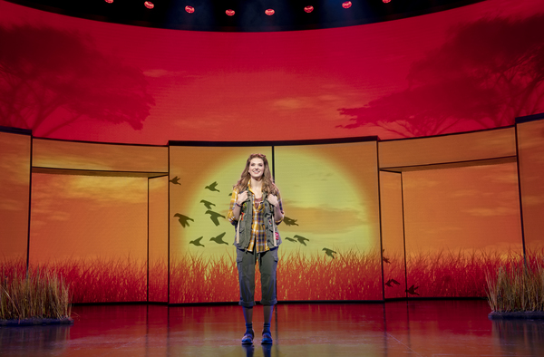 Danielle Wade (Cady Heron) in the National Touring Company of Mean Girls Photo