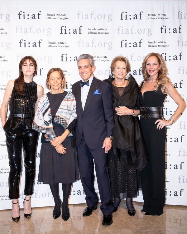 Photo Flash: Celebrating Charlotte Gainsbourg And Dominique SenequierAt Fiaf's Trophee Des Arts Gala