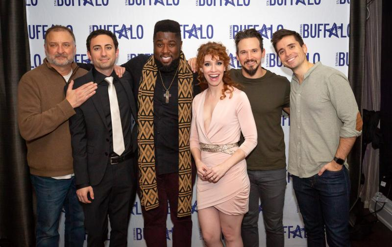 BWW Feature: LITTLE SHOP OF HORRORS Celebrates Closing Night at Shea's 710 Theatre joined by Cast of THE BROADWAY PRINCESS PARTY