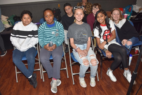 The young rockers of broadway that includes-Sway Bhatia, Timothy Foley, Nyla Jones, Matteo Russo, Myles Santiago and Isabelle Gottfried