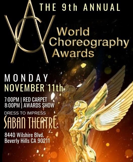 BWW Previews: THE 9TH ANNUAL WORLD CHOREOGRAPHY AWARDS Celebrate Dance Creativity & Innovation At The Saban Theatre