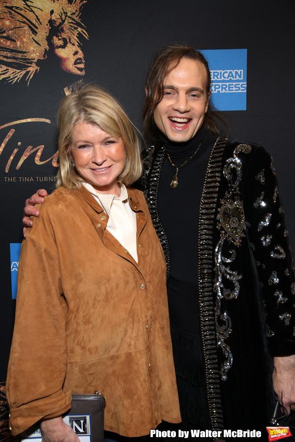 Martha Stewart and Jordan Roth Photo