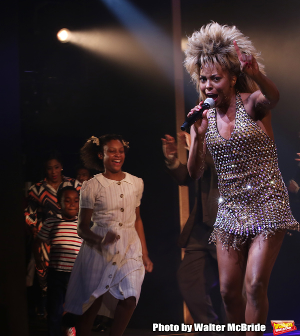 Photo Coverage: Adrienne Warren and the Cast of TINA Perform a Concert Following Opening Night