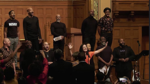 Alyssa Fox performs ?Once Upon A Time? from Brooklyn featuring the Queer Black Men in Photo