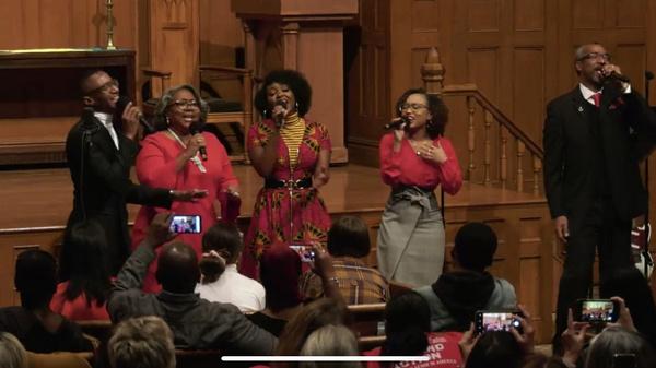 Photo Flash: Alyssa Fox And Aisha Jackson Continue Gun Reform Efforts After Successful Concert.